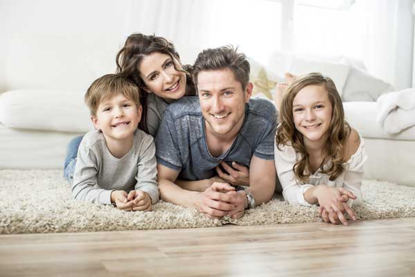 Family on Floor in Arizona Homes